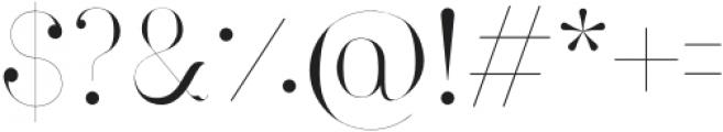 Larumi Regular Regular otf (400) Font OTHER CHARS