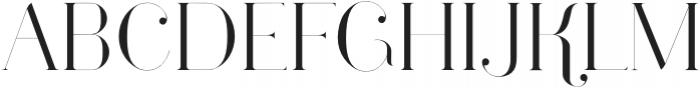 Larumi Regular Regular otf (400) Font UPPERCASE