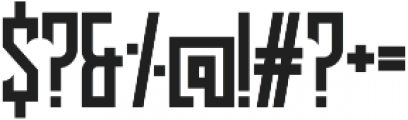 Lash Regular otf (400) Font OTHER CHARS