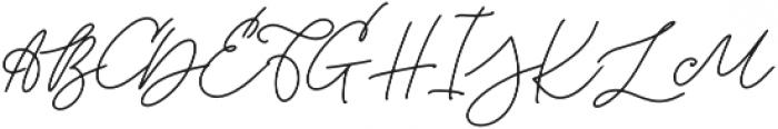 Last Factory otf (400) Font UPPERCASE