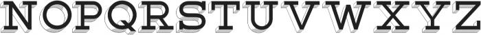 Lastra Display otf (400) Font LOWERCASE