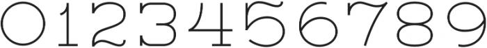 Lastra Light otf (300) Font OTHER CHARS