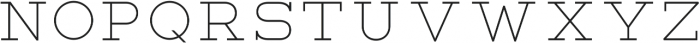 Lastra Light otf (300) Font UPPERCASE