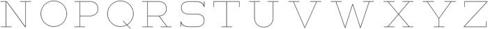 Lastra UltraLight otf (300) Font LOWERCASE