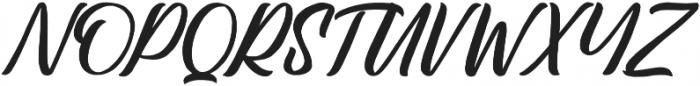Lastwinter otf (400) Font UPPERCASE