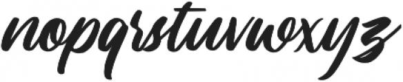 Lastwinter otf (400) Font LOWERCASE