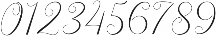 Latia otf (400) Font OTHER CHARS