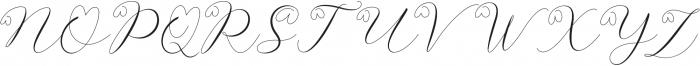 Latia otf (400) Font UPPERCASE