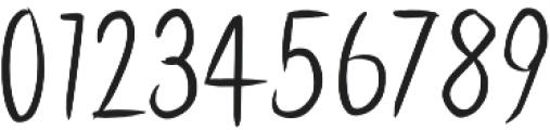 Latinbrushlight otf (300) Font OTHER CHARS