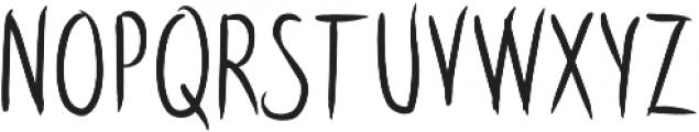 Latinbrushlight otf (300) Font UPPERCASE