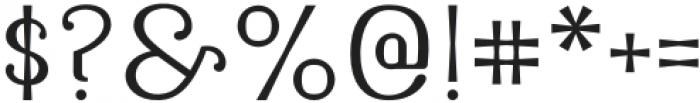 Latinera Light otf (300) Font OTHER CHARS