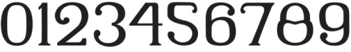 Latinera Regular otf (400) Font OTHER CHARS