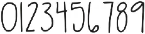 Latta Print Regular ttf (400) Font OTHER CHARS