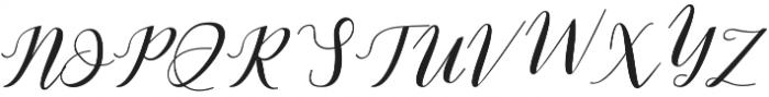 Latte Coffee  otf (400) Font UPPERCASE
