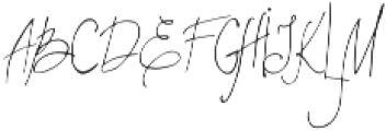 LatteStudio Script otf (400) Font UPPERCASE