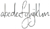 LatteStudio Script otf (400) Font LOWERCASE