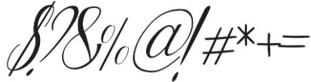 Lattonya otf (400) Font OTHER CHARS