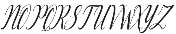Lattonya otf (400) Font UPPERCASE