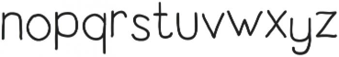 Latype Sans otf (400) Font LOWERCASE