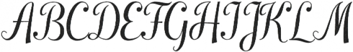 Laureate Aged otf (400) Font UPPERCASE