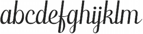 Laureate Aged otf (400) Font LOWERCASE