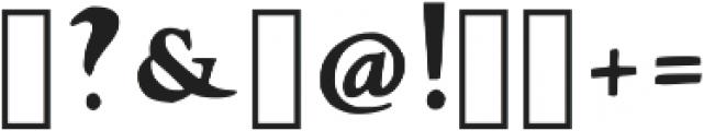 Laurel Regular Regular otf (400) Font OTHER CHARS