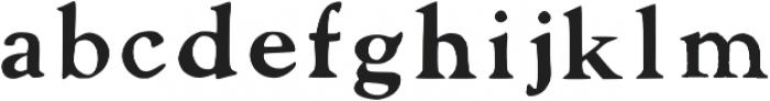 Laurel Regular Regular otf (400) Font LOWERCASE
