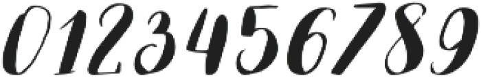 Lauren otf (400) Font OTHER CHARS