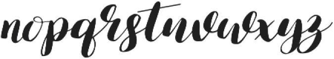 Lauren otf (400) Font LOWERCASE