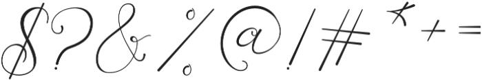 Laureta Regular otf (400) Font OTHER CHARS