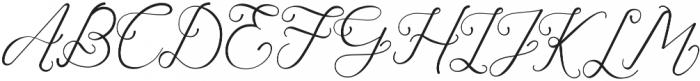 Laureta Regular otf (400) Font UPPERCASE