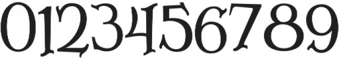 Lazarrous ligature otf (400) Font OTHER CHARS