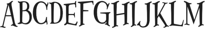 Lazarrous ligature otf (400) Font UPPERCASE