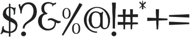 Lazarrous otf (400) Font OTHER CHARS