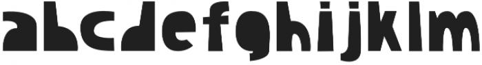 Lazy Olov Color Regular otf (400) Font LOWERCASE