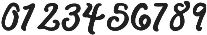 Lazy River Italic otf (400) Font OTHER CHARS