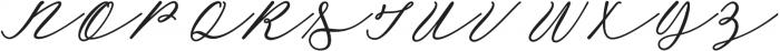 Lazy Tuesday Script otf (400) Font UPPERCASE
