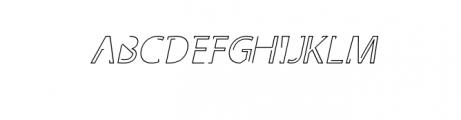 Latina Regular and Italic Font UPPERCASE