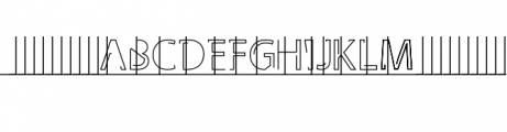 Latina Font UPPERCASE