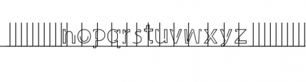 Latina Font LOWERCASE