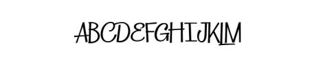 Lattek.ttf Font UPPERCASE