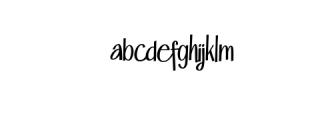 Lattek.ttf Font LOWERCASE