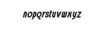 LayItalic.otf Font LOWERCASE