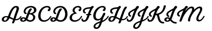 Laurelle Bold Font UPPERCASE