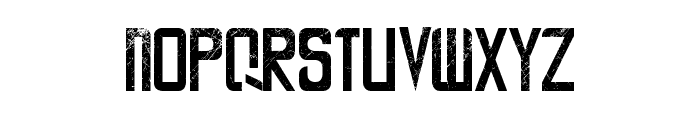 LA CALLE 6 - LJ-Design Studios Grunge Font LOWERCASE