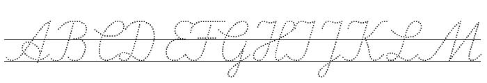 LA El 2 Italic Font UPPERCASE
