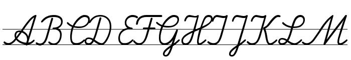 LA El 2 Font UPPERCASE
