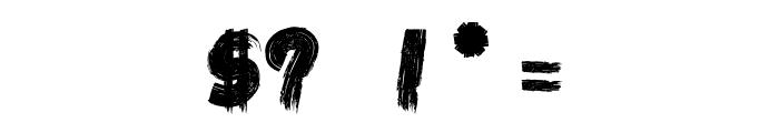 LA KAME A LEON    Font OTHER CHARS