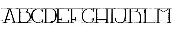 LACHAMBRE67 Font UPPERCASE