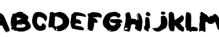 LALOUZZ Font UPPERCASE